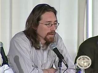 ハート・バイジェス 画像出典:IVAW 証言ビデオ