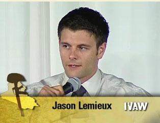 ジェイソン・ウェイン・レミュー 画像出典:IVAW 証言ビデオ