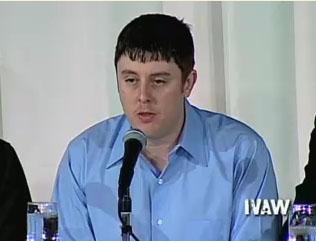 ジェフリー・スミス 画像出典:IVAW 証言ビデオ