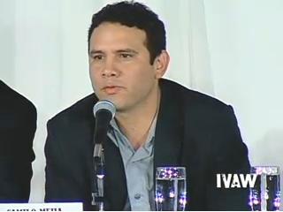 カミロ・メヒア 画像出典:IVAW 証言ビデオ